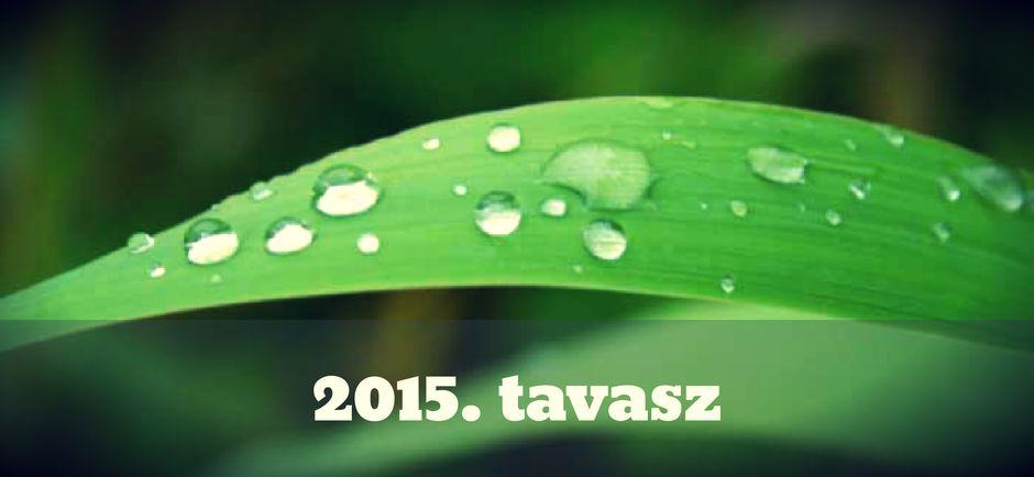 2015. tavasz